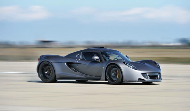 At 265.7 MPH, The Hennessey Venom GT Is Technically The Fastest Production Car You Can Buy