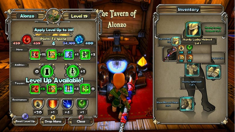 Dungeon Defender Is Tower Defense Of The Ancients