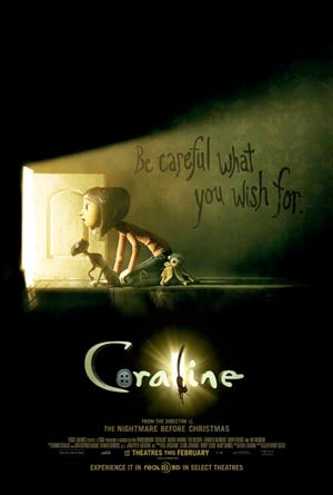 Coraline Featurettes Take You Inside Neil Gaiman's Brain