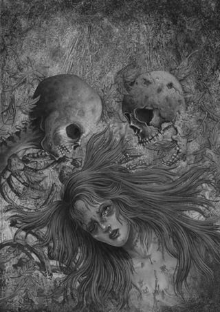Ridiculously creepy illustrations from Stephen King's new collection