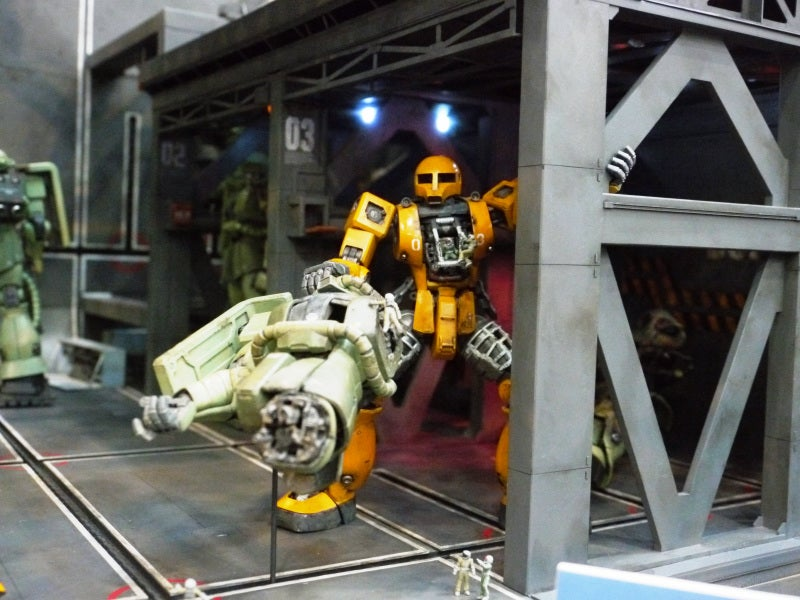 These Star Wars and Gundam Dioramas Will Melt Your Face