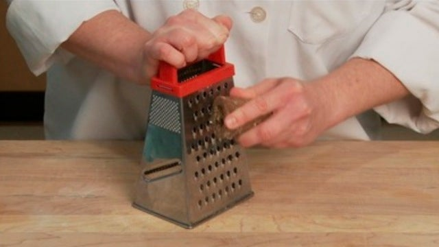 Use a Cheese Grater to Handle Solid Sugar Easily and Safely