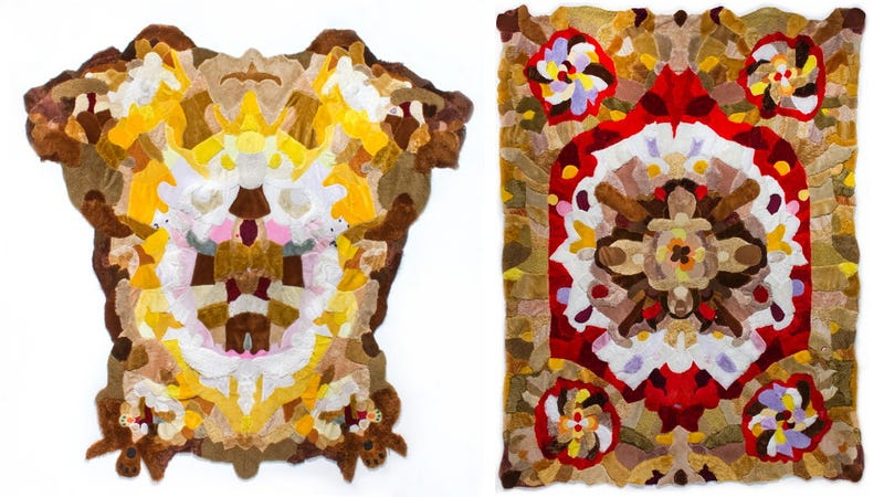 These Teddy Bear Rugs Are Made from the Skin of Childhood Companions