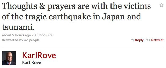 Celebs Turn To God After Japan Earthquake