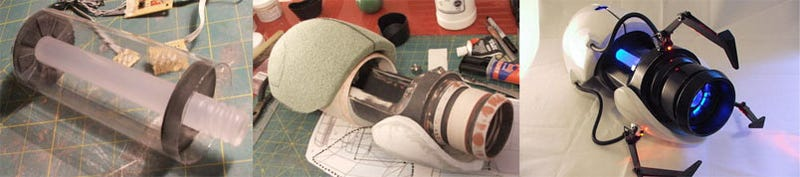 The Portal Gun Build Process, Documented in 113 Photos