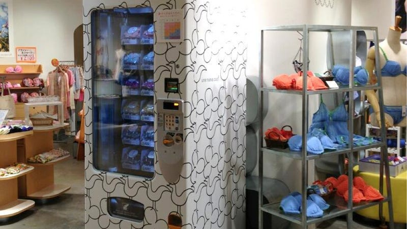 There's a Bra Vending Machine in Tokyo