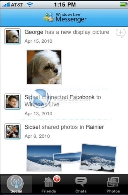 Windows Live Messenger Gallery