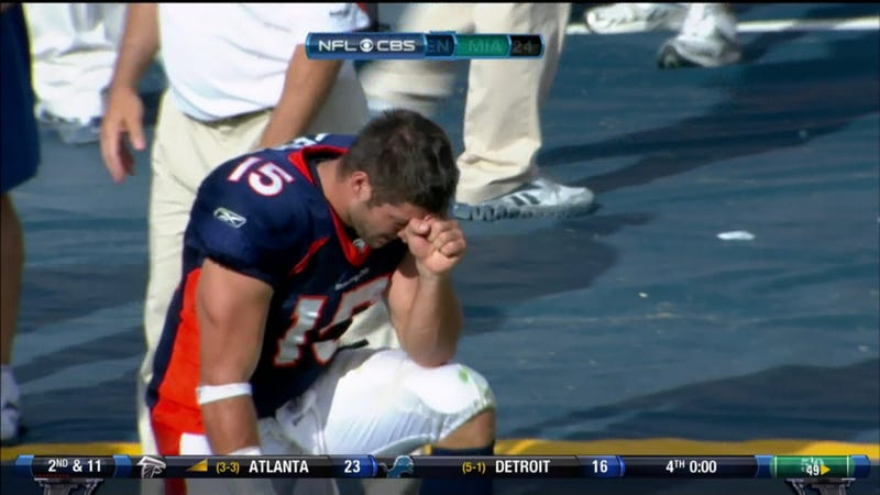 How To Avoid Counterfeit Tebowing: A Visual Guide