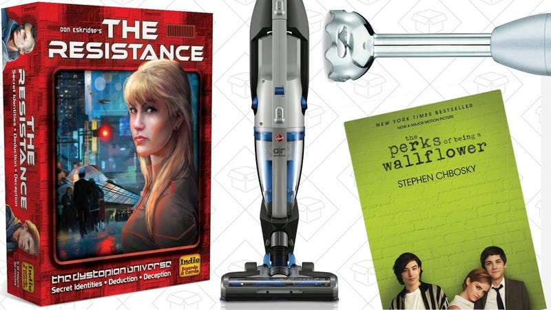 Saturday's Best Deals: Board Games, $3 Kindle Books, Immersion Blender