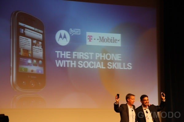 How Motorola's Clumsy Keynote Hurt the Cliq