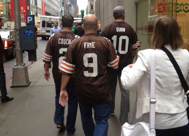 This Picture Of Three Browns Fans Is Pure Sadness