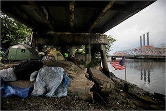What's So Wrong With Living In a Tent Down By the River?
