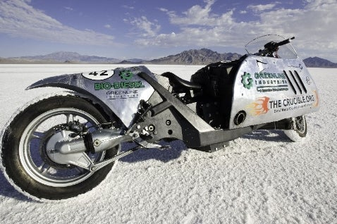 Biodiesel Beemer Sets Speed Record