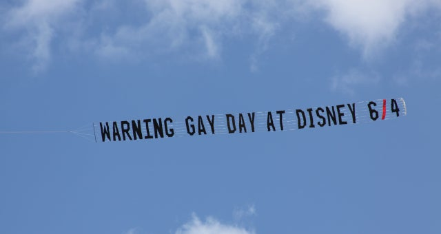 Helpful Family Values Group Warns Disney Goers of Gay Presence