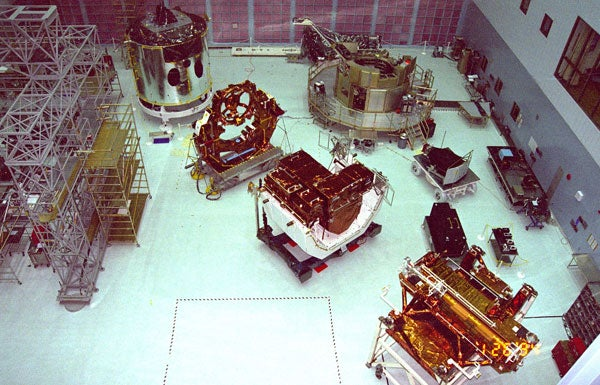 12 Satellites Under Construction