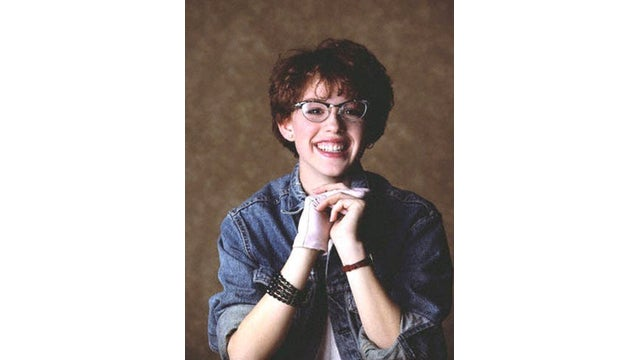 Well, This Is Just an Extremely Cute Photo of a Young Molly Ringwald