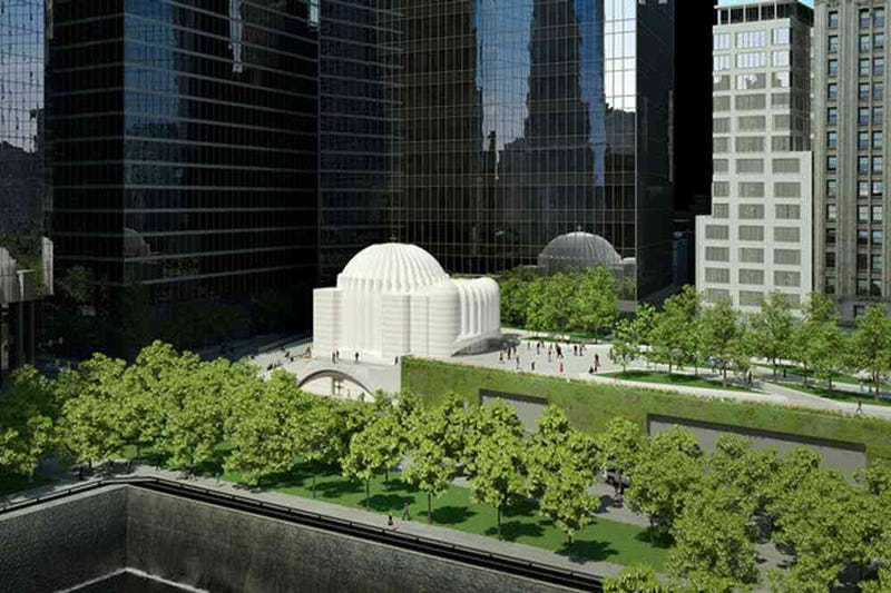 The WTC's Security Center Will be Topped By an Elevated Park