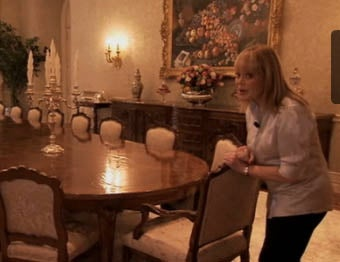 Candy Spelling Conducts Tour Of Cozy Manor