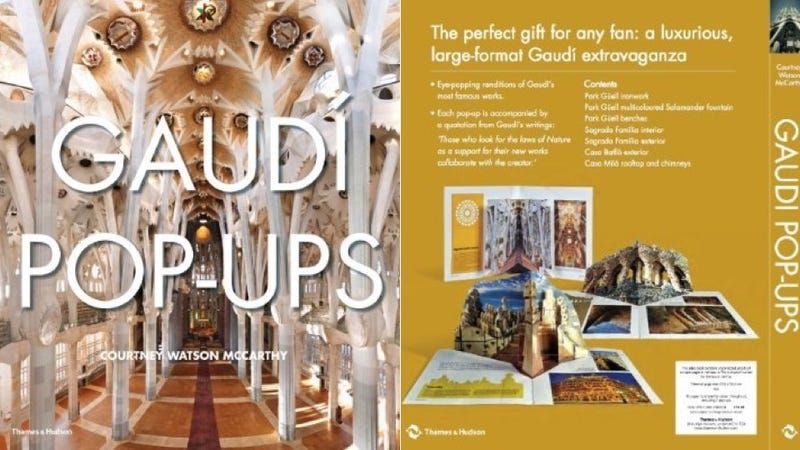 If You Can't Visit Barcelona, a Gaudí Pop Up Book Is the Next Best Thing