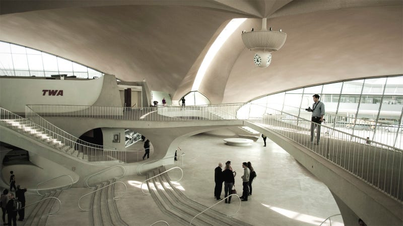 One of the Most Beautiful Airport Terminals Ever Built Is Being Preserved as a Hotel
