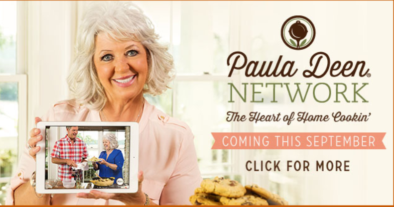Hey Y'all! Paula Deen is Back, This Time With Her Own Online Network
