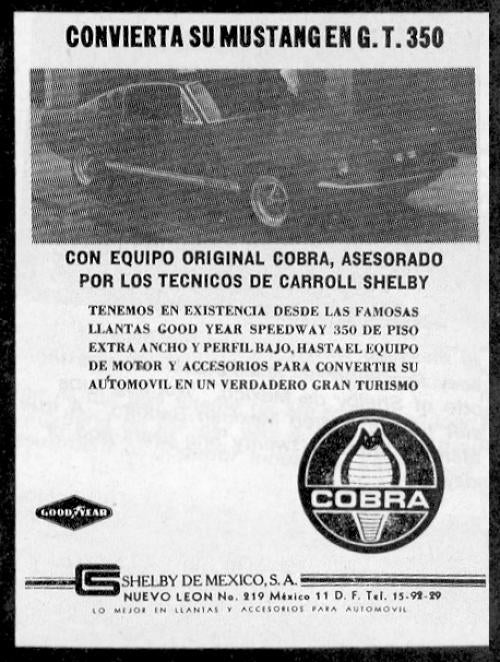 Shelby GT350 Mexico