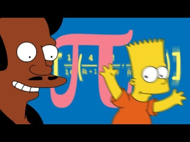 The Math Of The Simpsons Pi Algorithms And Counting On 8