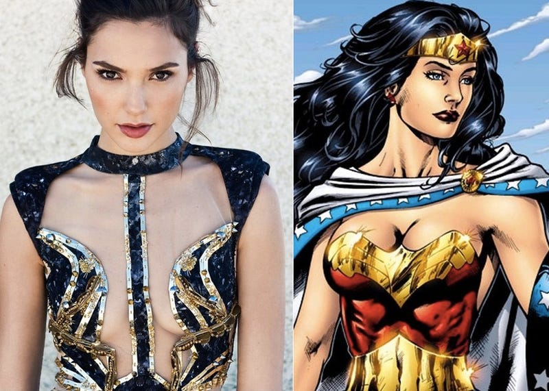 Gal Gadot cast as Wonder Woman in Batman Vs. Superman