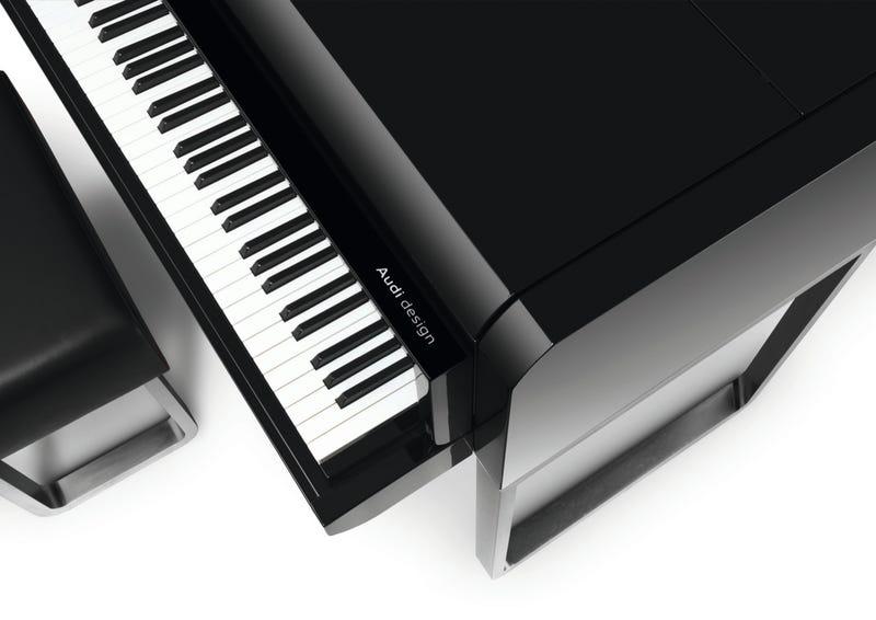 Audi Designs Exceptionally Precise Grand Piano