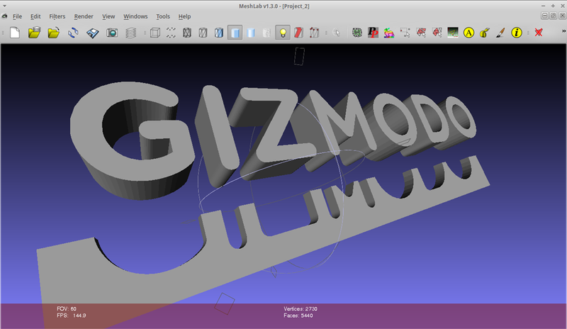 Watch Us Give the Gizmodo Logo a 3D-Printed Makeover