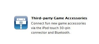 Apple Says Game Accessories Coming to iPhone, Touch