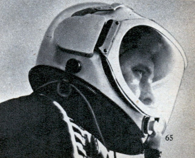 This is how we envisioned spacesuits back in the 1950s