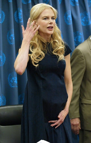 Nicole Kidman Campaigns On Behalf Of Women Around The World