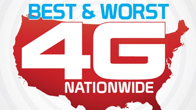 Nationwide 4G Showdown: Who's Fastest?