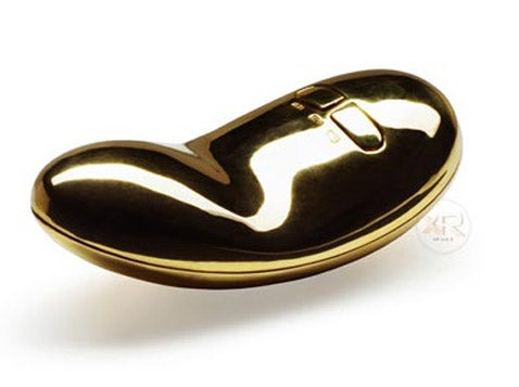 Gold. Plated. Vibrator.