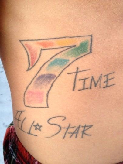 Riff Raff's Tattoos
