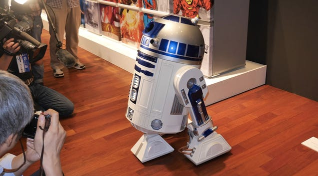 A Life-Size R2-D2 Mini Fridge That Can Actually Deliver Your Drinks