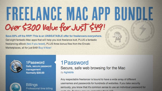 Freelance Mac App Bundle Offers Eight Work-Centric Apps at a Serious Discount