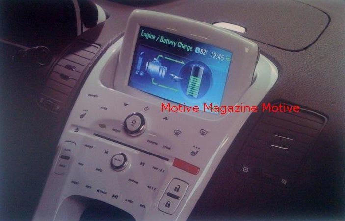 Chevy Volt Dashboard Looks Like The Future If The Future is White Plastic