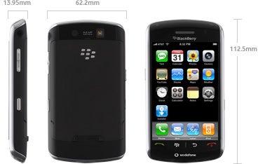 BlackBerry Storm specs claim it runs iPhone software