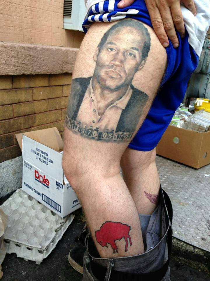 Bills Fan Appropriately Honors Hall Of Fame RB