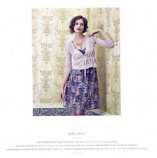 Anthropologie's Misty Water-Colored Memories