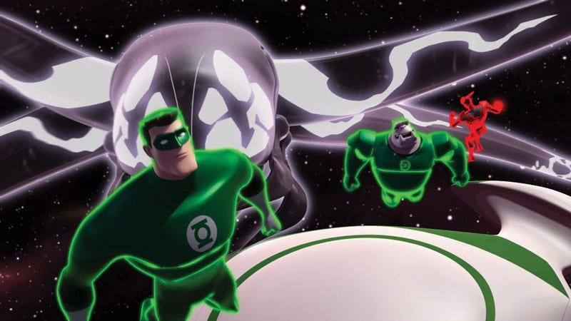 Green Lantern: The Animated Series Pictures