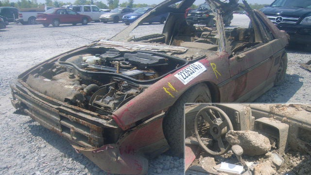Own The World's Soggiest Pontiac Fiero For Just $175