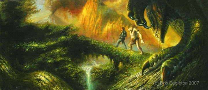 Bob Eggleton: The Texture of Monsters