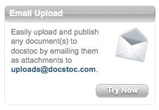Email to Embed Office and PDF Documents with Docstoc