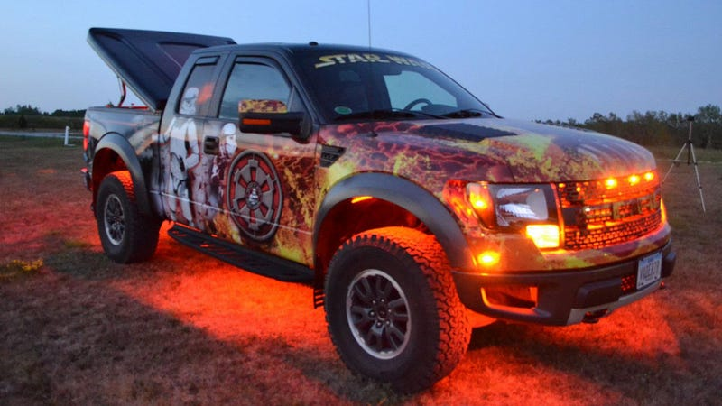 This Is What Happens When A Star Wars Superfan Buys A Truck