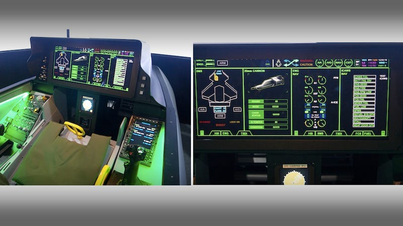 Hey, Samsung Makes Advanced Fighter Cockpits Too