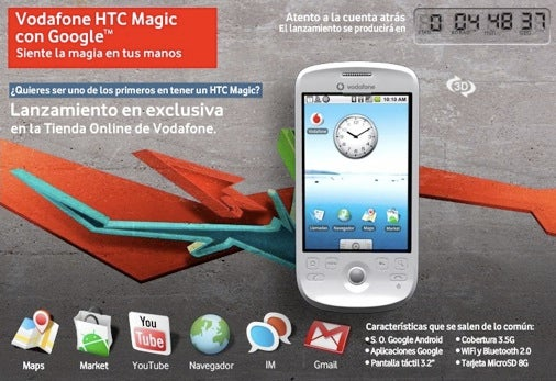 HTC Magic Launches A Week Early in Spain, Just to Spite the British