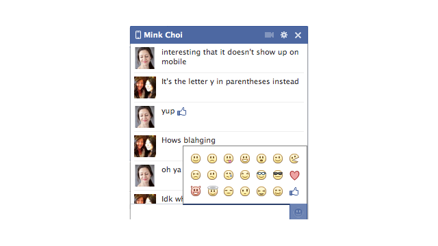 Do You (y) Facebook's New Like-Button Emoticon?